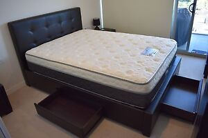 Bed & mattress less than a year old St Leonards Willoughby Area Preview