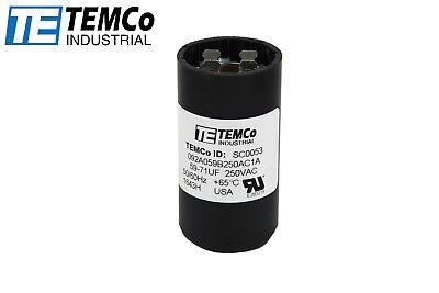 Packard PTMJ233A Motor Start Capacitor 233-280 MFD 220-250 VAC