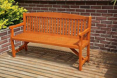 garden chairs - WestWood Garden Bench 3 Seater Chair Wood Patio Deck Patio Park Outdoor WGB02