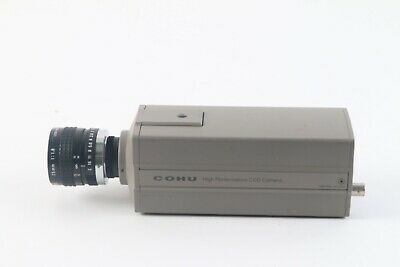 Cohu 4915-20000000 High Performance Ccd Camera W Camera Lens