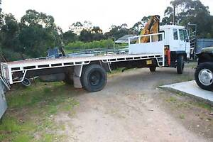 Mitsubishi crane truck for sale Kangarilla Morphett Vale Area Preview