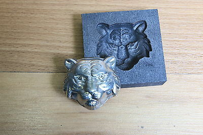 Large CAT Graphite mold for casting Silver Gold Glass Aluminum Tin and Lead