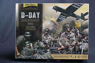 YO056 Heller 1/72 Model Figurine 52313 D-Day Air Assault: Paras British