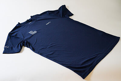 New Mens Craft Team Novo Nordisk Prime Technical Tee Shirt  Navy  Size Large