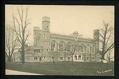Pennsylvania Pa Postcard Bryn Mawr College   The Library Vintage