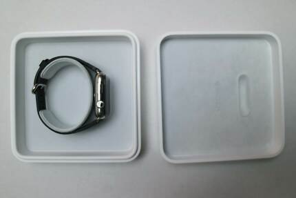 Apple watch 42mm, Stainless Steel, Black Classic Buckle Darlington 2008 Inner Sydney Preview