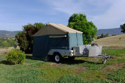 Toptra Caravn hard floor trailer with full annex Wodonga Wodonga Area Preview