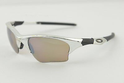 Oakley HALF JACKET 1.0 Polished/Titanium Iridium Sunglasses XLJ