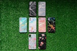 iPhone Cases (marble, floral, hologram Marble)