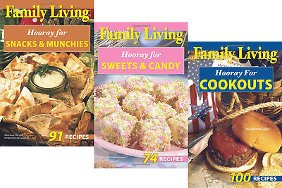 265 Recipes for Snacks Sweets Treats Candy Munchies Cookout BBQ Potluck Cookbook ()