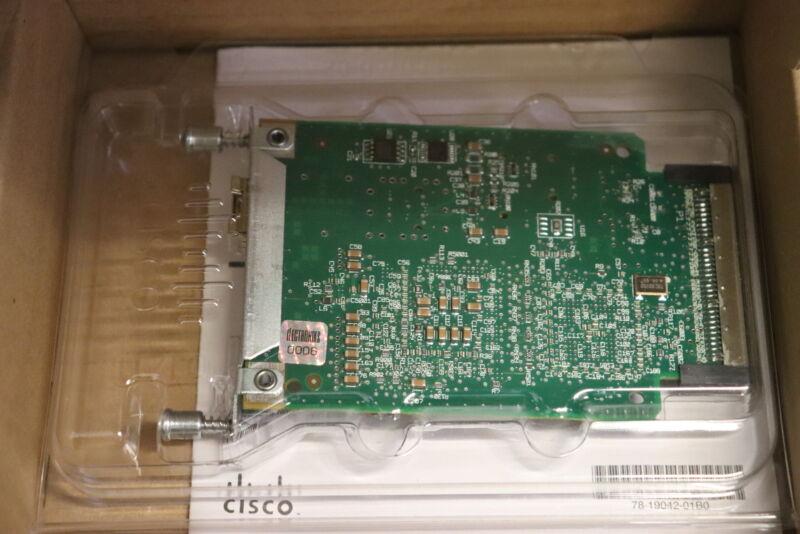 Cisco HWIC-1GE-SFP 73-8857-03 800-22918-01 Gigabit Ethernet High-Speed WAN