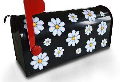 Mailbox Magnet Partial Cover White Daisy Magnets in 3 Sizes Car Jumbo Mail -