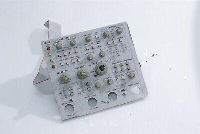 Tektronix 2445b 2465b Oscilloscope Front Panel Keypad Unit 333-3554-00