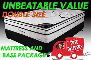 DOUBLE Bed Size Orthopedic Pocket Spring Ensemble DELIVERED FREE Carrara Gold Coast City Preview