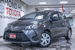 2018 Toyota Yaris Hatchback LE|Bluetooth|Keyless entry|Aux/usb|P