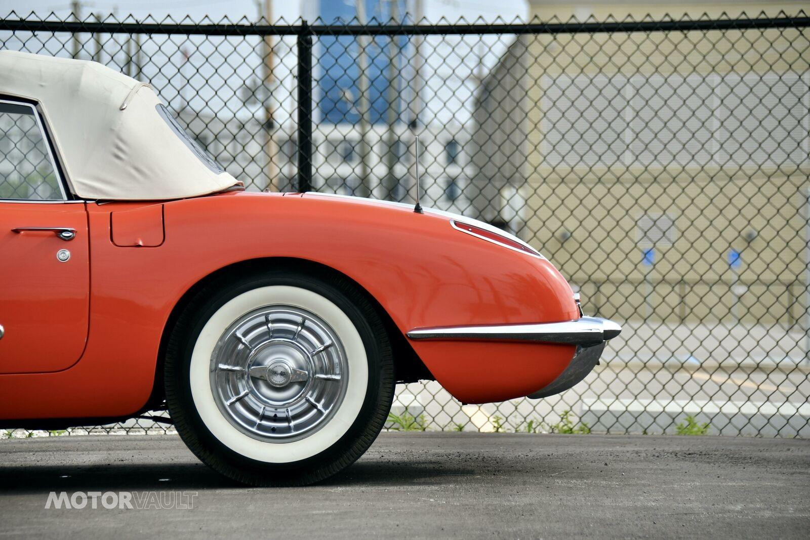 1958 Red Chevrolet Corvette   | C1 Corvette Photo 10
