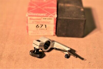 Vintage The L.s. Starrett 671 Dial Test Indicator Attachment 5.4s1