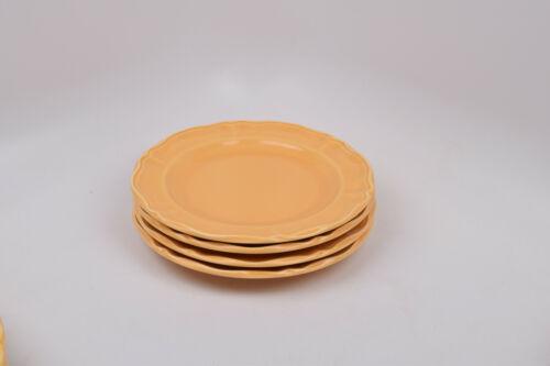 Varages Luberon Yellow France Set of 4 Salad Plates