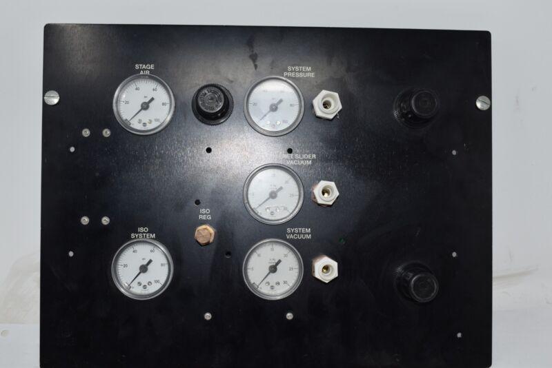 Ultratech Stepper 01-20-00976 System Pressure Regulator Vacuum Panel