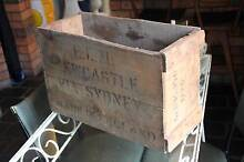 Vintage timber crate made in England..Newcastle via Sydney Hamilton Newcastle Area Preview