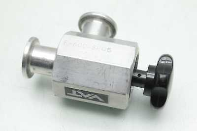 Vat F-60048-06 Right Angle Pneumatic Vacuum Valve Kf16 Flange Size