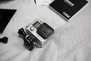 [Free post] GoPro Hero 4 Silver - Still in warranty - barely used Stanmore Marrickville Area Preview