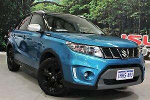 2017 Suzuki Vitara LY S Turbo (2WD) Blue 6 Speed Automatic Wagon
