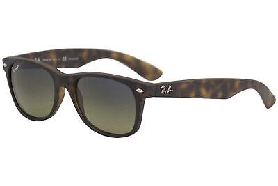 Ray Ban New Wayfarer RB/2132 894/76 Mt Havana RayBan Polarized Sunglasses 55mm