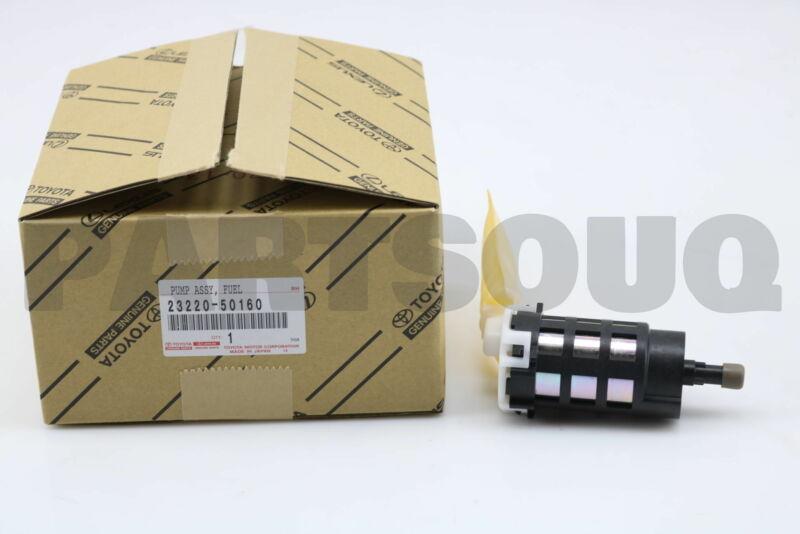2322050160 Genuine Toyota Pump Assy, Fuel W/filter 23220-50160
