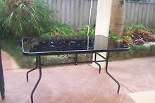 Outdoor Glass Top table Port Macquarie 2444 Port Macquarie City Preview