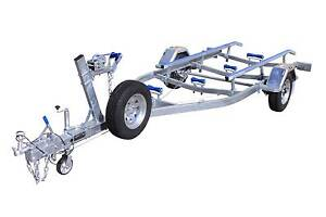 5.5mt Single Axle Boat Trailer-Skid(Braked) 1500kg ATM Glenorchy Glenorchy Area Preview