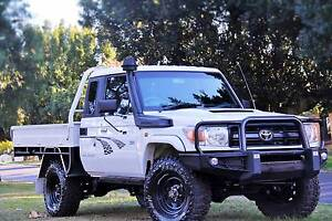 2010 Toyota Landcruiser Workmate  Manual Extremely rare extra cab Carlisle Victoria Park Area Preview