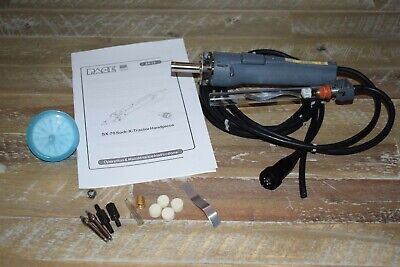 Pace Sensatemp Sx70 Sodr-x-tractor Desolder Solder Iron Handpiece 2 Tips Filter