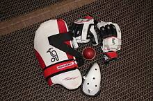 Cricket gloves thigh pad box n ball Waterford Logan Area Preview