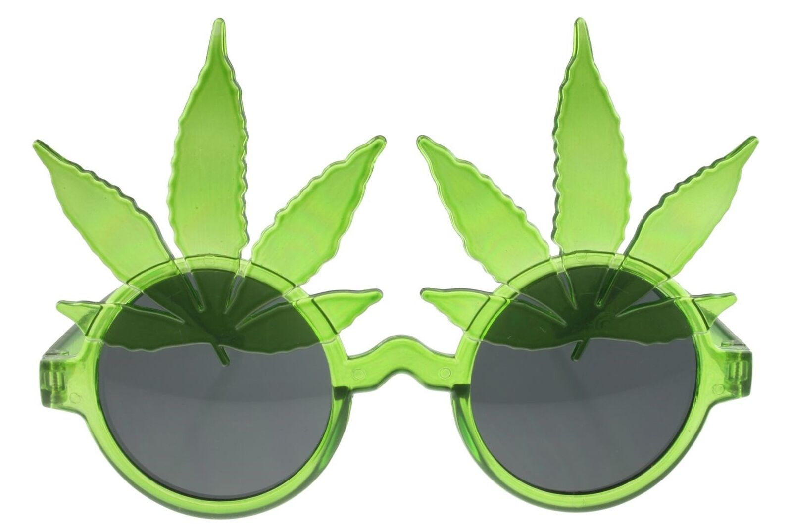 df16d7c5027f Details about 420 Marijuana Pot Glasses Sunglasses Leaf Party Novelty Green  Gray