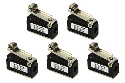 5x Roller Limit Switch Pneumatic Control Valve 2 Port 2 Way 2 Position 18 Npt