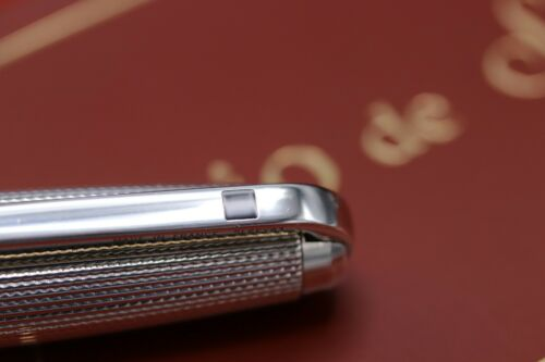 S.T. Dupont Olympio Silver-Plated Ballpoint Pen / Mechanical Pencil 2