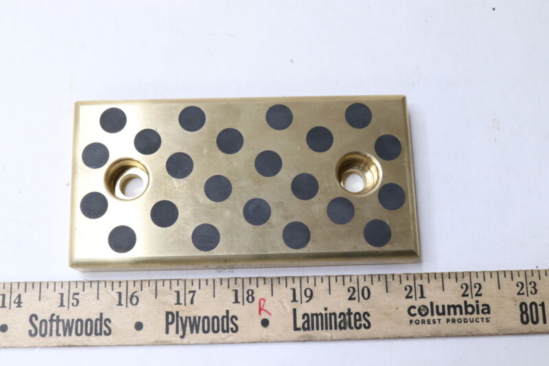 Misumi SEW75-75 Oil-Free Slide Plates Copper Alloy 20mm