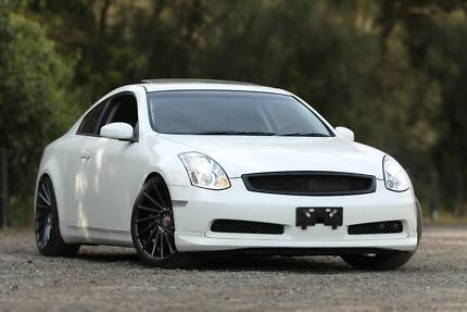 MY 2004 Nissan Skyline Coupe Sunroof 20'' Mags New Leather Seats Wetherill Park Fairfield Area Preview