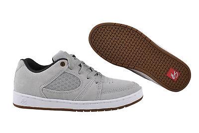 Es Skateboard-schuhe (eS Accel Slim grey/white/gum Skater Sneaker/Schuhe grau)