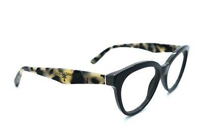 PRADA Eyeglasses Women VPR 11R TFN-1O1 Gray Tortoise Full Rim 52[]17 140 #319