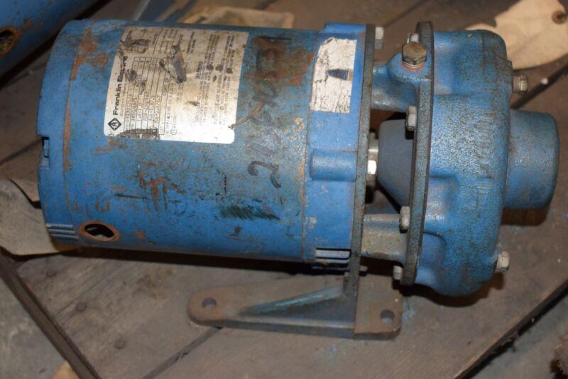 Franklin Electric 1303012116 1.5HP 3450 RPM 3PH Pump Motor, Goulds Pumps Inc 2BF