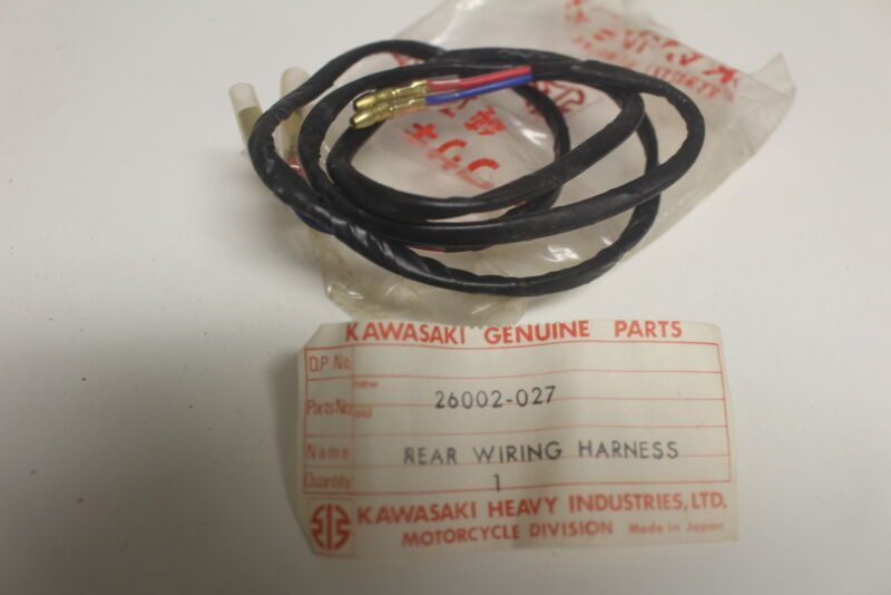 1972 Kawasaki F9 F7 G4 Big Horn 350 Rear Wiring Harness