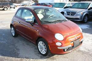 2013 FIAT 500 Lounge **LOW LOW K** Great Fuel Economy