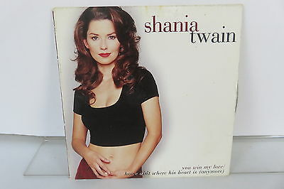 You Win My Love  Single  By Shania Twain  Cd  Feb 1996  Mercury Nashville