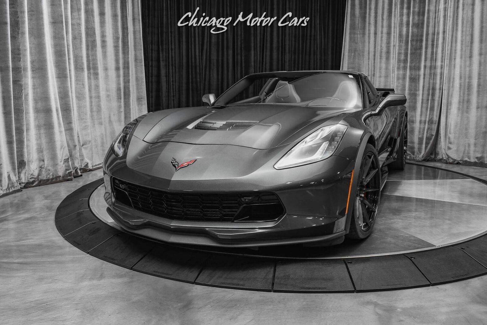 2017 Gray Chevrolet Corvette Grand Sport 2LT   C7 Corvette Photo 2