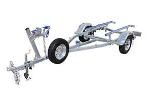 4.5mt SingleAxle Boat Trailer-Skid 750kg ATM Glenorchy Glenorchy Area Preview