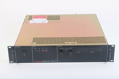 Sorensen Dcs40-75e Dc Power Supply 0-40 Volts And 0-75 Amps