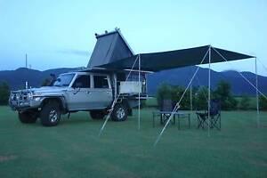 Jack Off Custom Built Aluminium Ute Canopy Camper Gordonvale Cairns City Preview