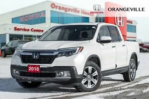 2018 Honda Ridgeline Touring|NAVIGATION|BACKUP CAM|LEATHER|SUNRO